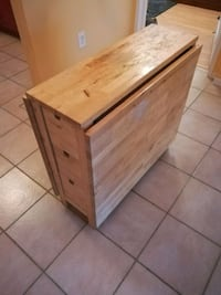 Folding table with drawers. Montreal, H4A