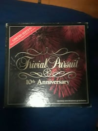 Tenth Anniversary Edition of Trivial Pursuit.