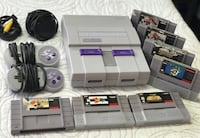 Super Nintendo with 2 Controllers and 7 Games! Read Description ! Brampton, L6Y 4G6