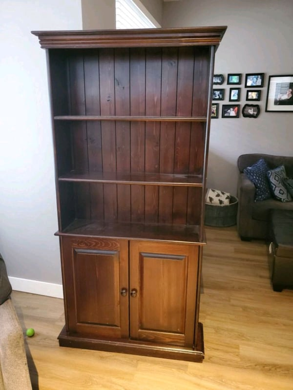 solid wood hutch 0