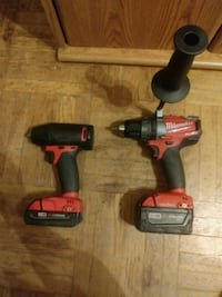 Milwaukee M18 fuel (2754-20)and (2703-20) Philadelphia, 19136