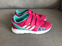 pair of red-and-green Adidas running shoes Longueuil, J3Y
