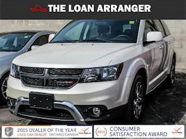 2017 dodge journey crossroad with  26,045km and 100% approved financing