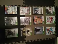 12 Xbox 360 games 50 for all or 5 for one.