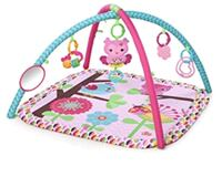 pink and green floral activity gym Mission, 78572