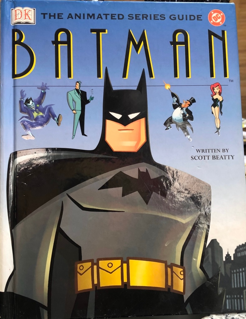 Photo BATMAN THE ANIMATED SERIES GUIDE DC Hardcover Book
