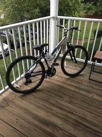 black and white hardtail mountain bike Woodbridge, 22192