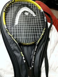 black and green tennis racket Calgary, T2A 1H9