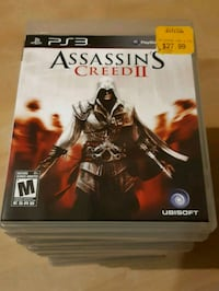 PS3 Assassin's Creed game