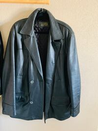 Black leather coat Riverside, 92505