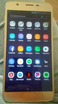 Gold Samsung Galaxy Android smartphone Abilene, 79603