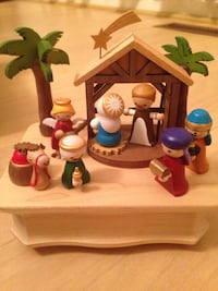 Jean Cultural Music Box- Nativity