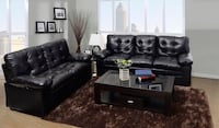 Brand new faux leather sofa and love seat  Silver Spring, 20902
