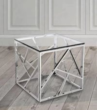 New Chrome Side / End Table