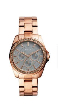 Womens rose gold Janice Fossil watch  Seaford, 23696