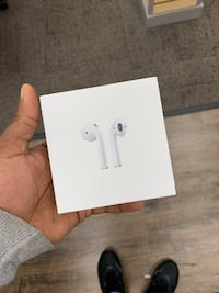 white Apple AirPods in box Portsmouth, 23707