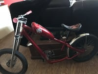 Bike red and black rare find