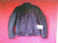 NEW Woman Leather Jacket size M