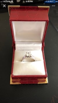 14k white gold ring  Georgetown, L7G 5R9