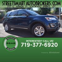 2017 Ford Explorer XLT Colorado Springs, 80905