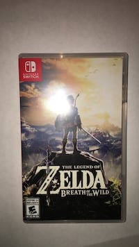 Nintendo switch legend of zelda breath of the wild Mississauga, L5W 1T6