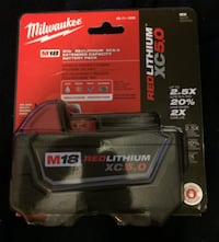 Milwaukee M18 18-Volt Lithium-Ion XC Extended Battery Pack 5.0Ah Pelham Manor