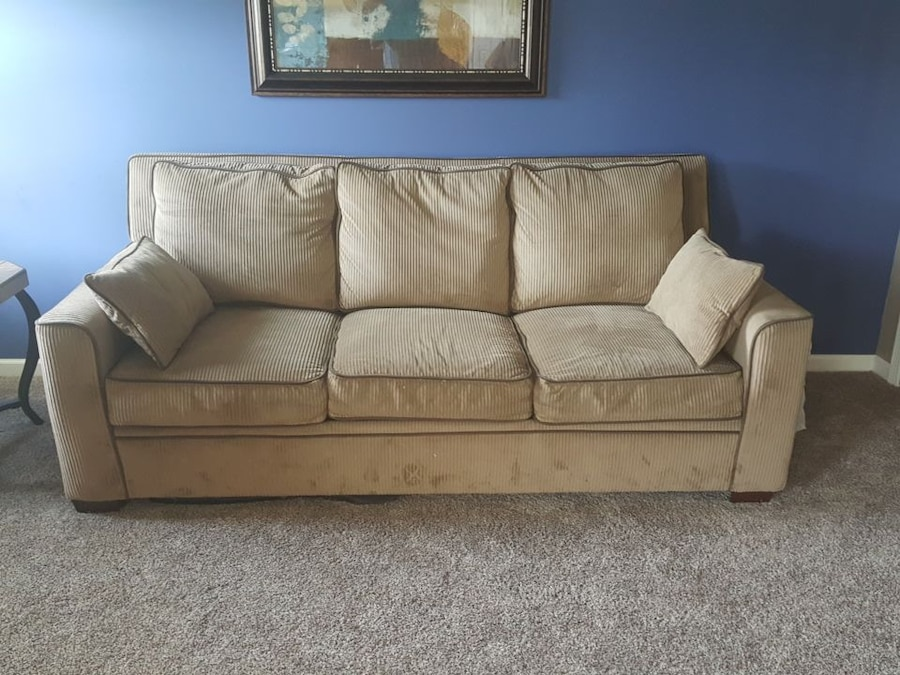 used ashley furniture couch and love seat for sale in burlington letgo rh us letgo com