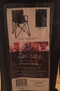 Folding/camping high chair