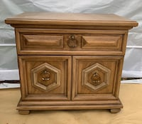 Wooden nightstand end table Rockville