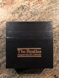 The Beatles Compact Disc Ep Collection UK Complete 15 Cd Box Set