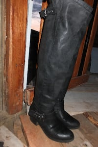 Thigh High Boots Size 9.5 Maple Ridge