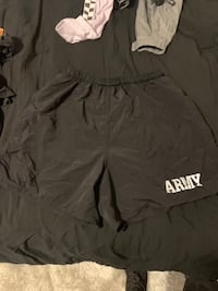 Vintage Army Running shorts