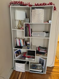 Cute Bookshelf with Two Storage Boxes New York, 11363