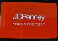 $36 JCPenney GIFT CARD for $30 or less for quickest buyer.