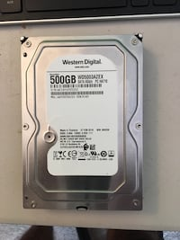 "500GB desktop hard drive, 3.5"" NEWER Hamden, 06514"