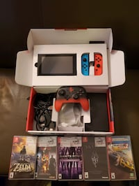 Nintendo Switch V2 Game Bundle