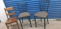 Hight/bar chairs (2) Mississauga, L4Y 1P2