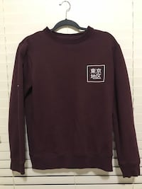 The Sweater in Wine-red with size S Houston, 77089