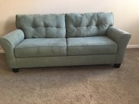 Dark foam green w/ matching loveseat Hanford, 93230
