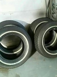 All season tires! 15 inches and barely used!!