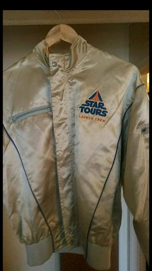 Authentic early 90's Star Tours Launch Crew size M