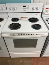 Whirlpool used electric stove w/coils