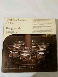 Umbrella Candle Holder  Kitchener, N2E 4C7