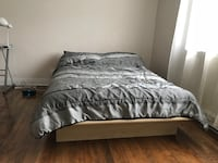 Double bed from Wayfair with free mattress for IKEA  Montréal, H4V 1N9