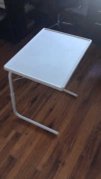 white and gray folding chair Laval, H7T 2S1