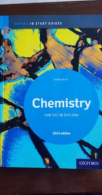 Chemistry for the IB diploma Geoffrey Neuss Çankaya