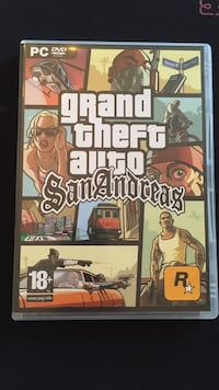Grand theft auto San Andreas  Carrières-sous-Poissy, 78955