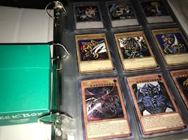 Yugioh Card Collection and Blue Eyes Deck