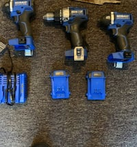 Kobalt Impact Drill, $65 Each chargers/Batteries for each Anchorage, 99501