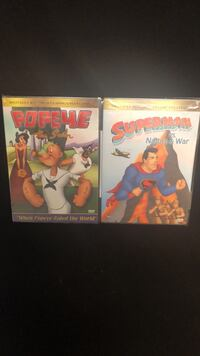 Classic Superman/Popeye collection! Dvd's